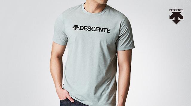 데상트 반팔 티셔츠