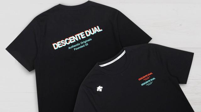 데상트 듀얼 티셔츠 PRE-ORDER