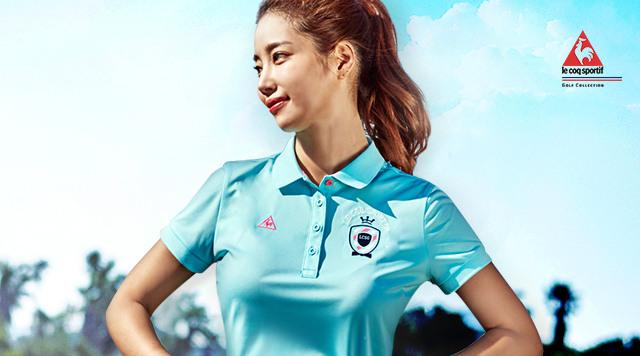 여성 골프 셔츠