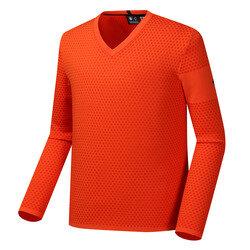 남성 OUTLAST 브이넥 니트 티셔츠