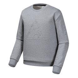남녀공용 루즈핏 빅로고 면 맨투맨 티셔츠