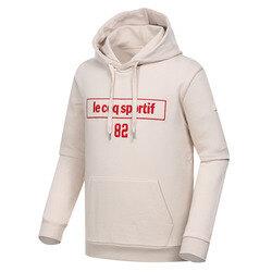 남녀공용 레귤러핏 면 레터링 후드 티셔츠