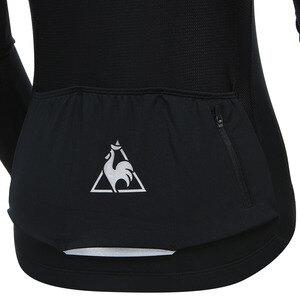르꼬끄(LECOQ) 여성 스트레치 사이클 긴팔저지 집업 자켓 (Q8322CPJ81)
