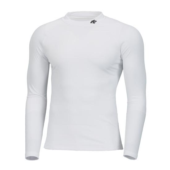 데상트(DESCENTE) 남성 트레이닝 넥로고 윈터 베이스 레이어 티셔츠 (S9421TCOO2)