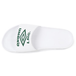 UMB X LMC MIXED LOGO SLIDE WHITE