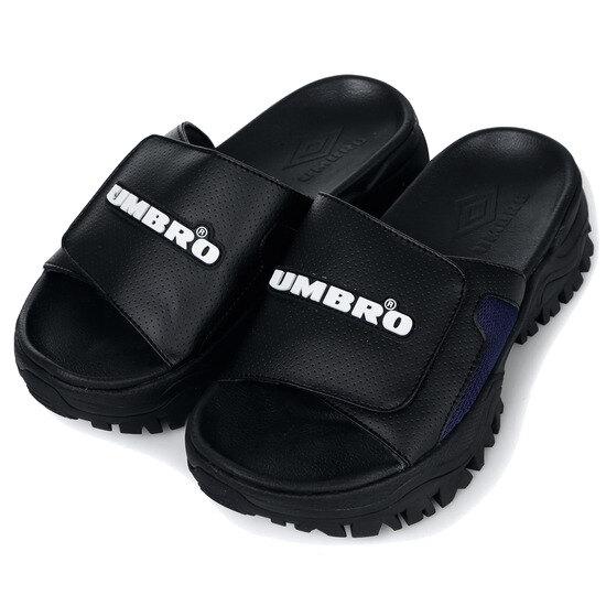 엄브로(UMBRO) 범피 슬라이드 블랙 (BUMPY SD) (U9223CSD60)