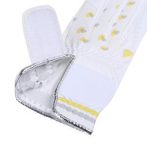 르꼬끄 골프(LECOQ GOLF) 여성 라이크라 극세사 하트 패턴 장갑
