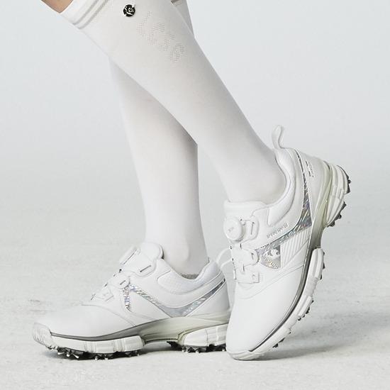 르꼬끄 골프(LECOQ GOLF) 여성 핀플렉스(FIN-FLEX) 스파이크 골프화