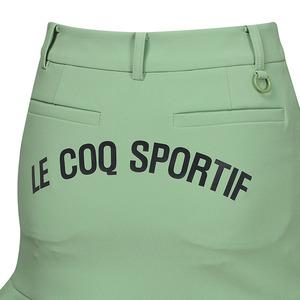 르꼬끄 골프(LECOQ GOLF) 여성 언밸런스 플레어 스트레치 H라인 스커트 (GM122LSK31)